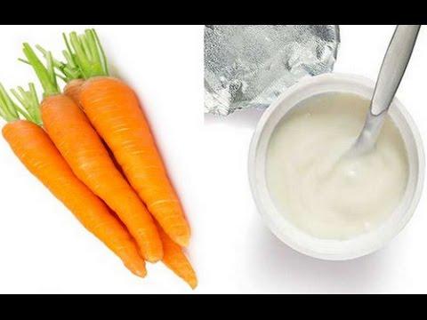 Những công dụng tuyệt vời của hỗn hợp sữa chua và cà rốt