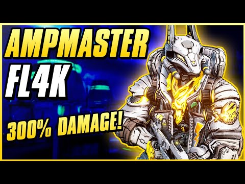 BEST FL4K BUILD FOR TRUE TAKEDOWN, BOSSING, & EVERYTHING! | AMPMASTER FL4K | Fade Away Crit Build