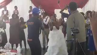 BRIDE LEADS WORSHIP ON HER WEDDING