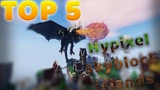Top 5 Hypixel Skyblock Islands