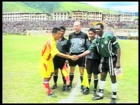 Soccer in Bhutan