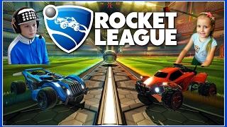 Rocket League - Game of the Year Edition PS4 #13 ИГРАЮ С СЕСТРЕНКОЙ  С ПОДПИСЧИКАМИ LIVE STREAM HD