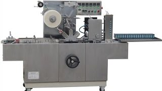 Overwrapper machine for soap poker cigarette small box packaging wrapping machinery