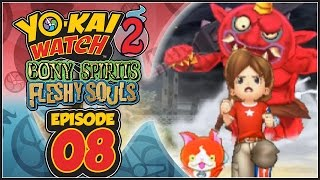 Yo-Kai Watch 2 Bony Spirits / Fleshy Souls - Episode 8 | Terror Time! [English 100% Walkthrough]