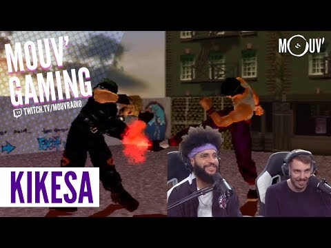Youtube: KIKESA: session rétrogaming sur Playstation 1 [best of]