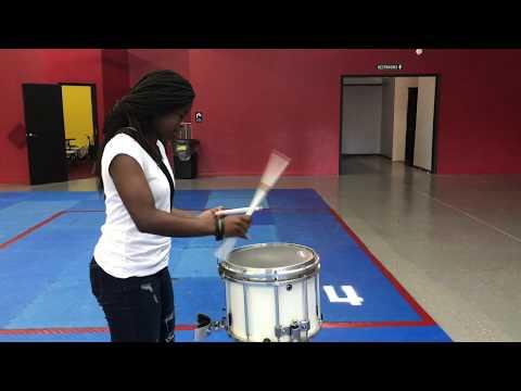 Teacher Vs. Student Snare Drum Battle (unedited version)