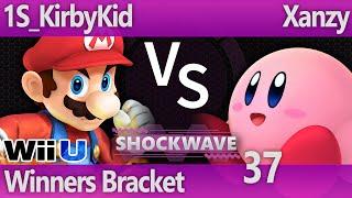 SW 37 Wii U - 1S_KirbyKid (Mario) vs Xanzy (Kirby) - Winners Bracket