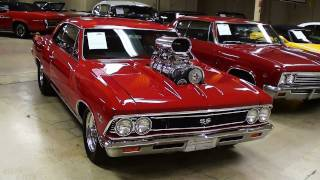 Supercharged 1966 Chevelle Pro-Street 462 Big-block Beast