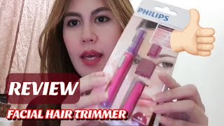 REVIEW: PHILIPS HP6390 FACIAL HAIR REMOVAL