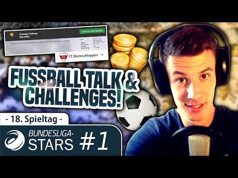 BUNDESLIGA-STARS | FUßBALL TALK #1 - COMMUNITY-PROJEKT | 18. Spieltag