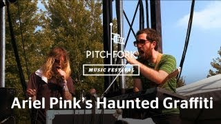 Ariel Pink S Haunted Graffiti Bright Lit Blue Skies Pitchfork Music Festival 2011