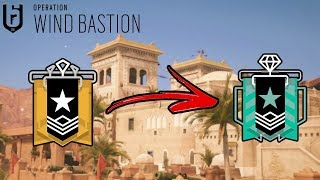 How I Got Diamond In Operation Wind Bastion : Ranked Highlights  - Rainbow Six Siege Gameplay