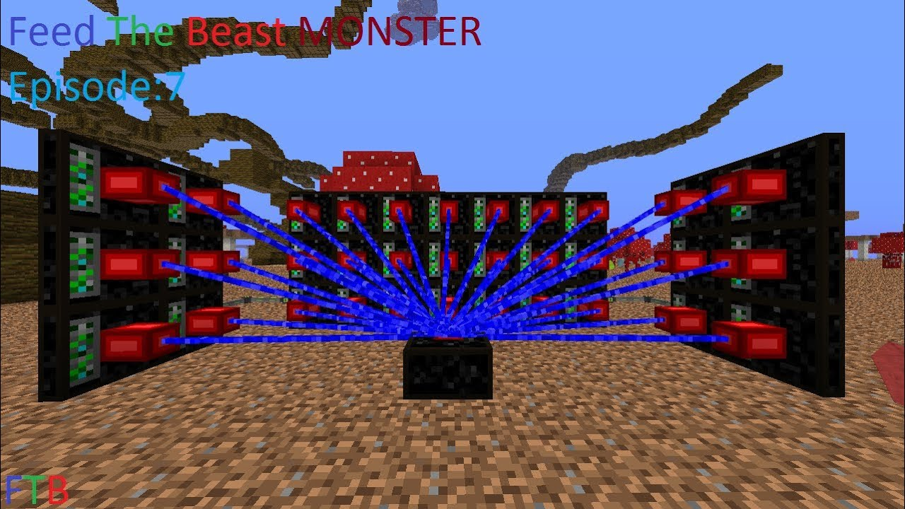 Download Feed The Beast Monster Ep:7 Mystcraft and QuarryPlus