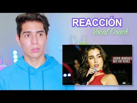 Reacción y Análisis a la Voz Real de Lauren Jauregui sin Autotune - Vocal Coach Reacciona  Vargott