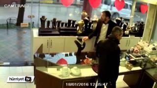 Bursa'da kuyumcunun bıçaklama anı kamerada | Son Dakika Haber