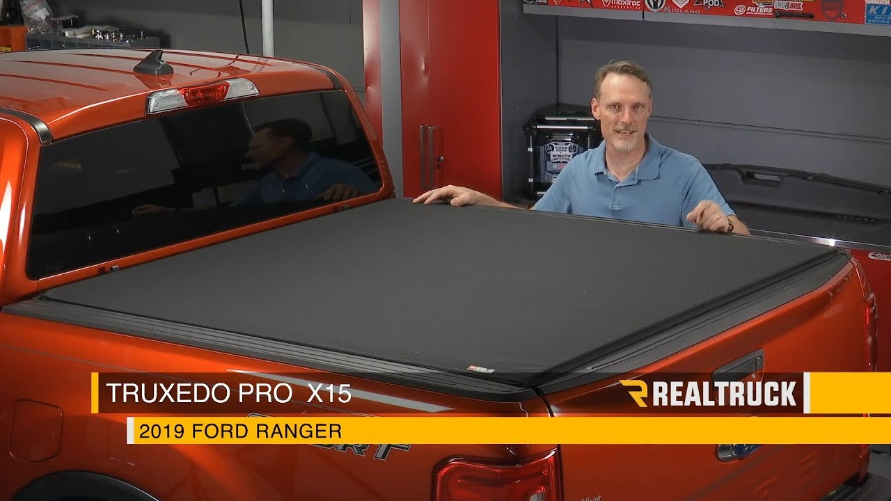 How To Install Truxedo Pro X15 Tonneau Cover On A 2019 Ford Ranger Youtube
