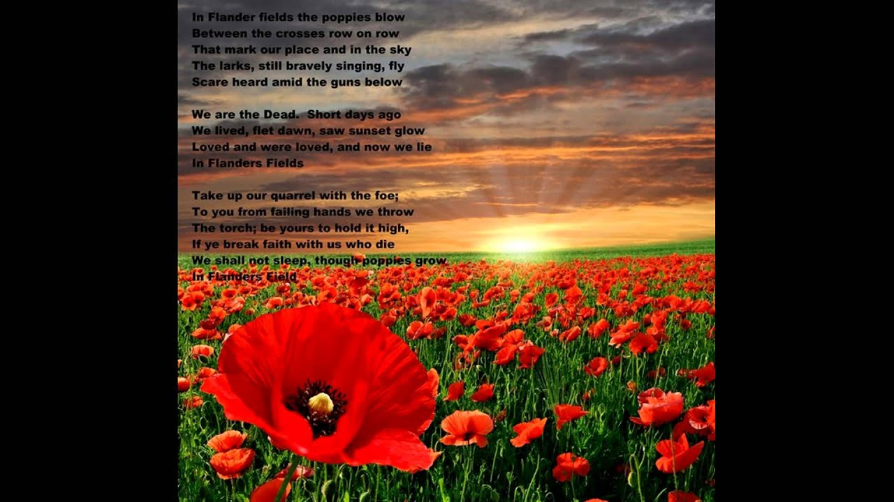 In Flanders Fields (improved version) - YouTube
