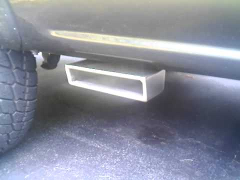 Side Exit Flowmaster Exhaust On A Silverado Youtube