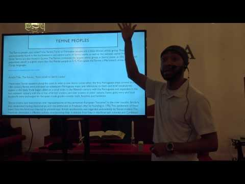 """Black History Unplugged 2017 event: """"The Ancient Israel - Temne - Gullah connection"""" lecture"""