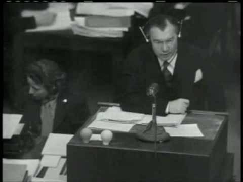 Nuremberg Day 78 Robert H. Jackson / Milch