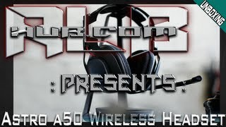 Astro a50 Wireless Headset - Unboxing