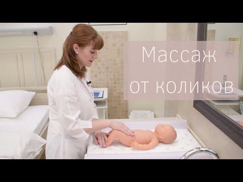 Массаж для новорожденных в домашних условиях от коликов видео