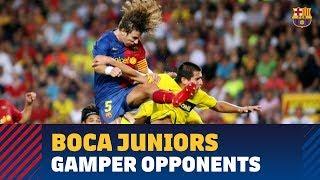 Two great comebacks against Boca Juniors