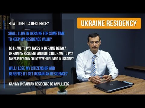 HOW TO GET RESIDENCY IN UKRAINE | TEMPORARY AND PERMANENT RESIDENCE PERMIT FOR FOREIGNERS IN UKRAINE