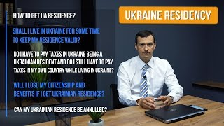HOW TO GET RESIDENCY IN UKRAINE | HOW TO OPEN WORK PERMIT IN UKRAINE