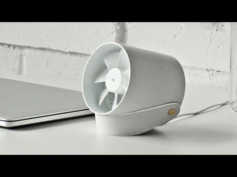 Xiaomi VH 104 USB Cooling Fan - Тихий и компактный настольный вентилятор