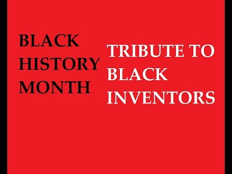 Great African-American Inventors/Black History Month