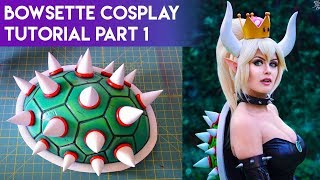 Bowsette Cosplay Tutorial Part 1 - Making the Bowser Shell