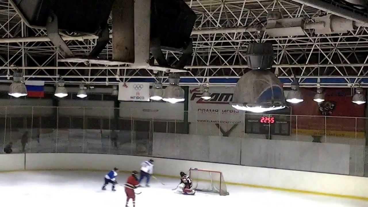 Любительский хоккей в Новогиреево