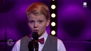 Mitt hjerte alltid vanker - Aksel Rykkvin (12y) - Sean Lewis - God Morgen Norge TV2