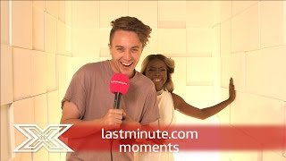 lastminute.com moments | Moments Booth with Gifty Louise | The X Factor UK 2016