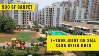 1+1bhk on sell at Casa Bella Gold | Palava City Near Xperia Mall | Dombivli East
