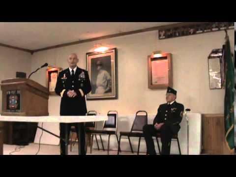 GEN Huber surprises RET MSG & WWII Veteran Frank Moody, 2011 02 16 15;33;00