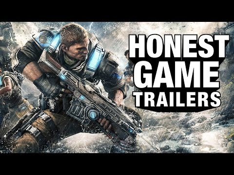 GEARS OF WAR 4 (Honest Game Trailers)