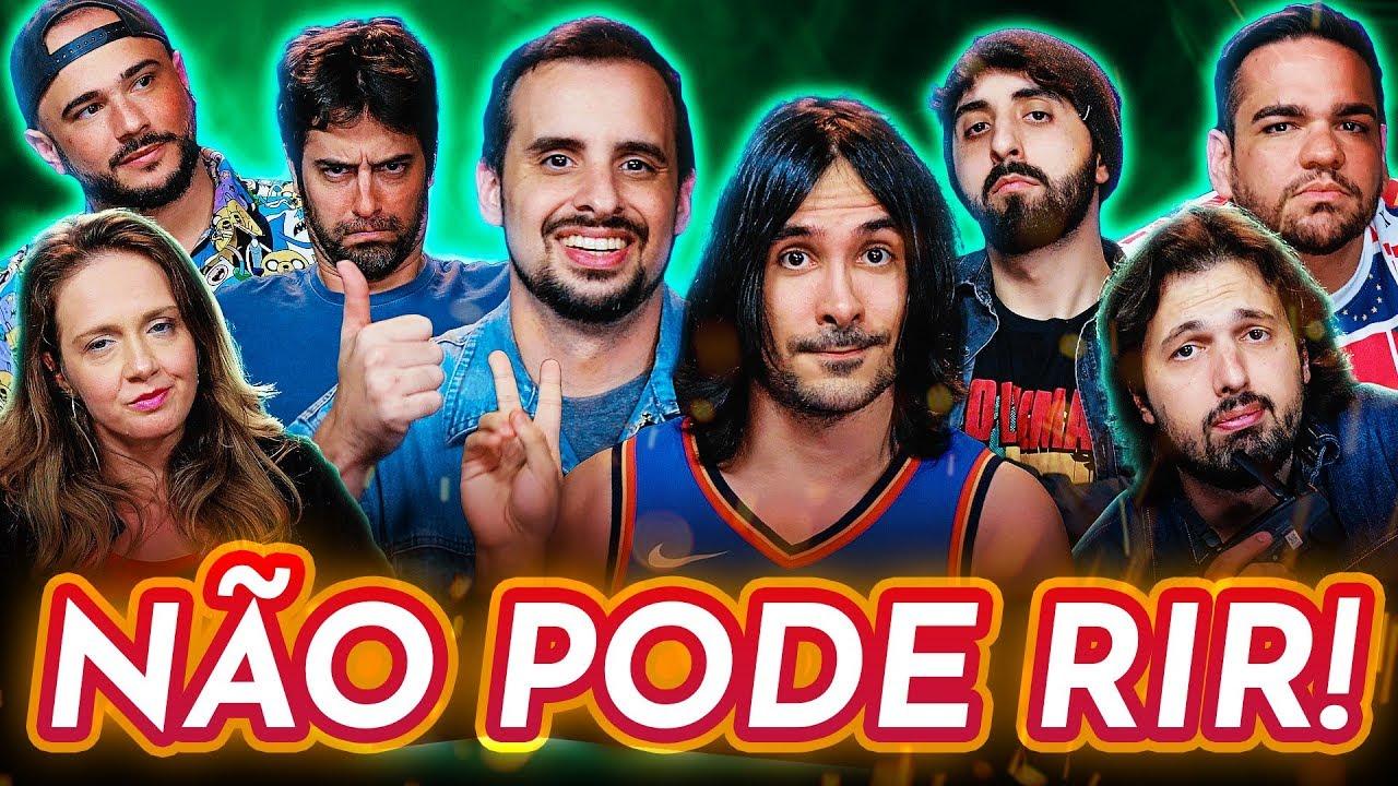 NÃO PODE RIR! com HENRYTADO, ZELUNE, DUDU GUIMARÃES e WILL MARCHIORI