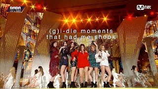 (g)i-dle moments that had me shook