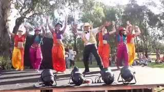 Bollydazzlers Dancetroupe celebrate Holi at Lynbrook