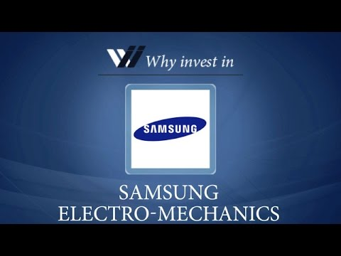 Samsung Electro- Mechanics - Why invest in 2015