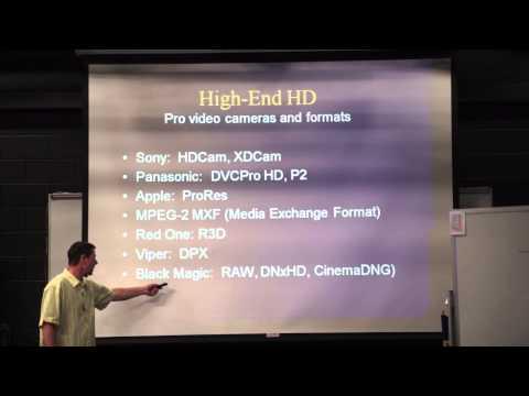 RTVB 1305 Lecture:  Digital Video Compression (4/9/14)