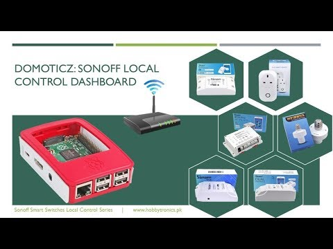 Domoticz: Sonoff Local Control Dashboard - DO IT YOURSELF