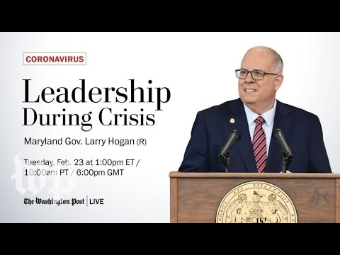 Maryland Gov. Larry Hogan on reopening schools and covid relief package (Full Stream 2/23)