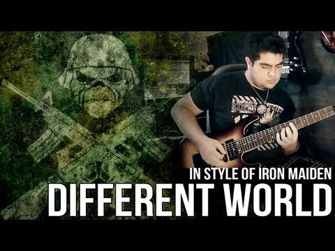 DIFFERENT WORLD - RAPHAEL EFEZ [IN STYLE OF ADRIAN SMITH/ IRON MAIDEN]
