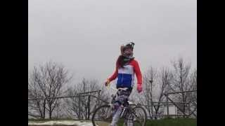 On my way to season BMX 2013 Ruby Huisman