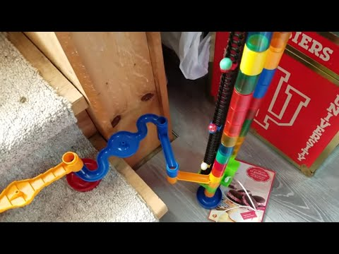 INSANE 2 STORY MARBLE RUN WITH 2 ELEVATORS! CRAZY MARBLE RACE!