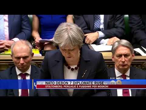 NATO Dëbon 7 Diplomatë Rusë - News, Lajme - Vizion Plus