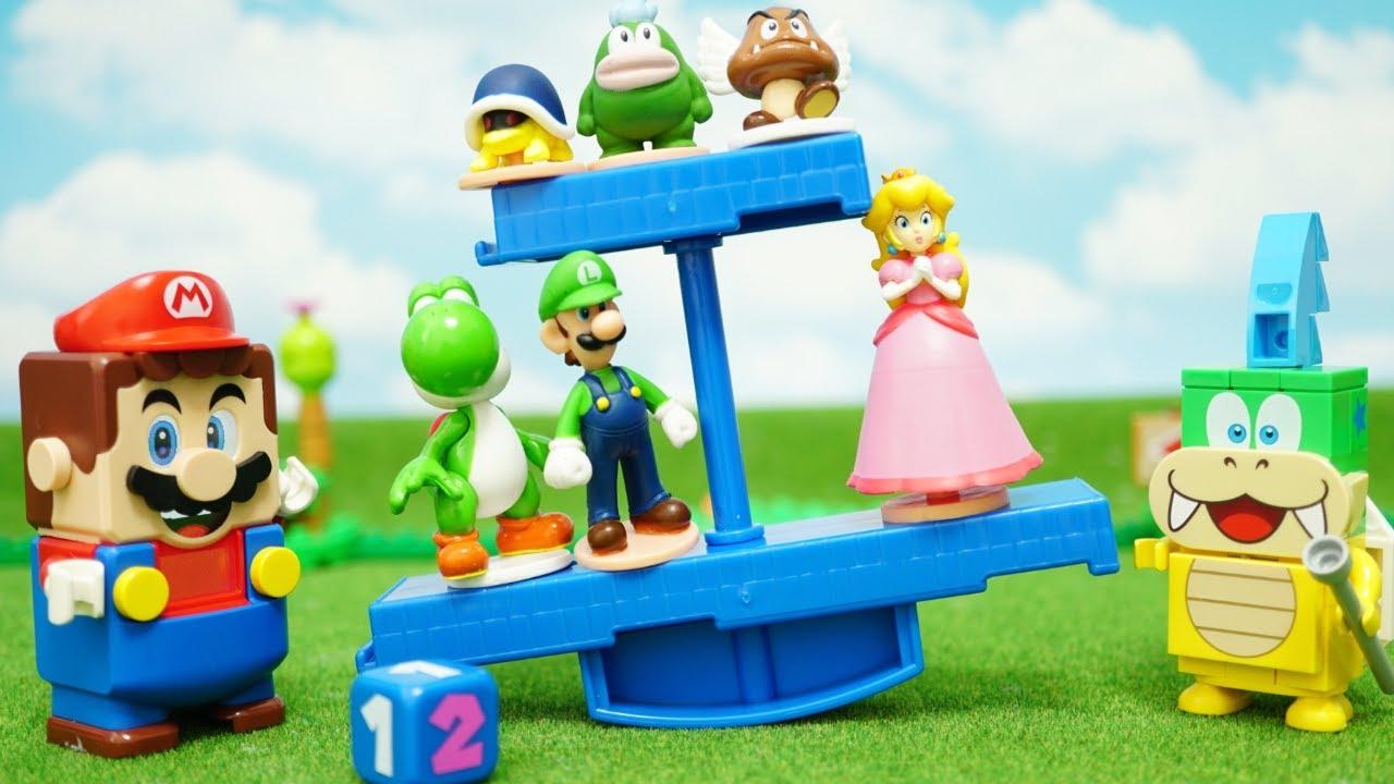Lego mario stopmotion anime!「LEGO super mario VS Larry Koopa」レゴマリオ VS ラリー!「バランスワールドゲームJr.」